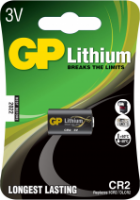 GP CR2 3v Lithium battery 1CR2, DLCR2 From £3.33 EX VAT Buy Online from The Battery Shop